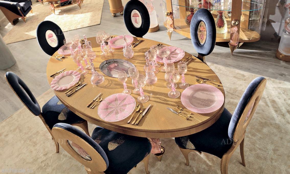 Мебель для гостиной обеденная зона