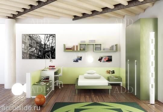 Дизайн и интерьер для детской комнаты