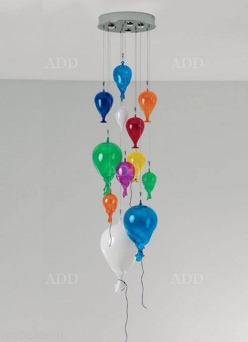 ребенка давать люстра в виде воздушных шариков феврале года